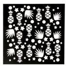 Трафарет для творчества Summer time, 15 х 15 см