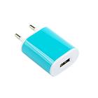 Сетевое зарядное устройство Luazon универсальное USB, 1,0А, МИКС