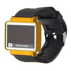 Часы наручные с функцией даты, черный Широкий циферблат, микс ободка, 23,5см