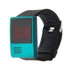 Часы наручные с функцией даты, черный Вытянутый циферблат, микс ободка, 24см