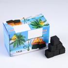 Уголь для кальяна Coco fire charcoal, кубики (набор - 72шт 11*16,5см