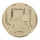 """Жетон для медали """"Баскетбол"""" золото"""