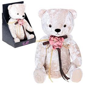 """Мягкая игрушка """"Медведь БернАрт"""" цвет белый"""