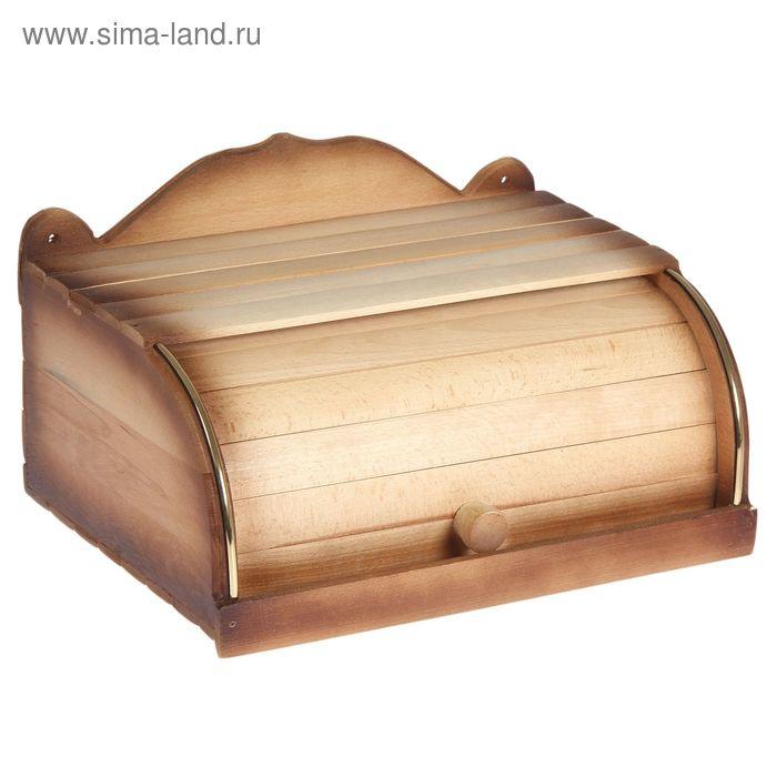 """Хлебница деревянная """"Люкс"""""""
