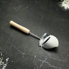 """Лопатка для нарезки """"Сырная"""" с деревянной ручкой"""