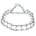 Ошейник строгий проволочный «Зооник», сварная цепь 3 мм, ширина 3 см, обхват шеи 50-66 см