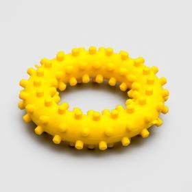 """Игрушка """"Кольцо с шипами"""" Зооник, №2, 6,6 см микс цветов"""