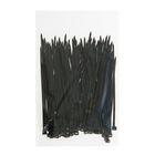 Хомут-стяжки пластиковые, 2.5х100 мм, чёрные, упаковка 100 шт.
