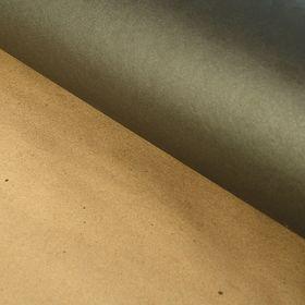 Бумага упаковочная крафт 'Однотонный черный' 70 х 100 см Ош
