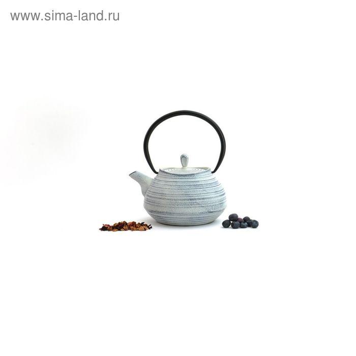 Чугунный чайник Studio, цвет белый, 1.1 л