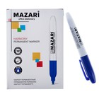 Маркер перманентный 2.0 мм MAZARI Harmony М-5001 синий