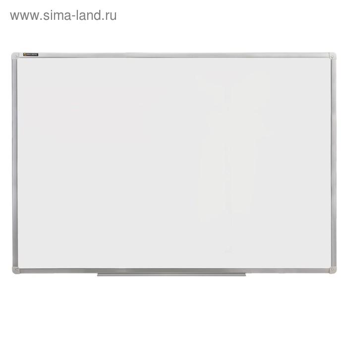 Доска магнитно-маркерная стандарт, 120х180см, алюминиевая рамка, гарантия 10 лет