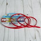 Лента репсовая, 6мм, 45,5(±0,5)м, №051, цвет красный