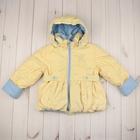 """Куртка для девочки """"РОМАНТИКА"""", рост 104 см, цвет лимонный 5 вида 01"""