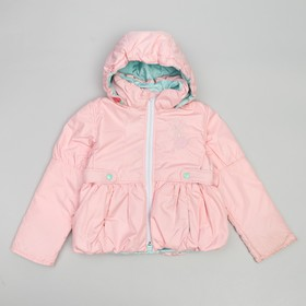 "Куртка для девочки ""РОМАНТИКА"", рост 104 см, цвет розовый 5 вида 01"