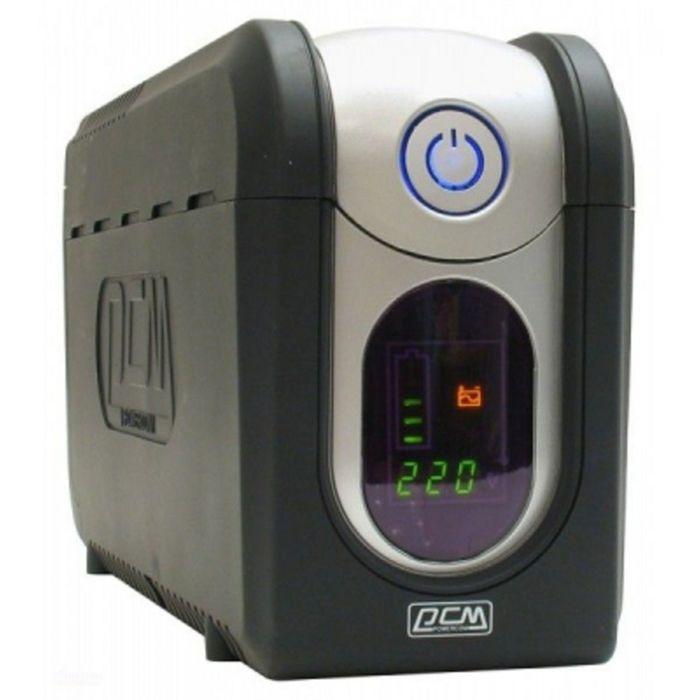 Источник бесперебойного питания Powercom Imperial IMP-525AP, 315 Вт, 525 ВА, черный