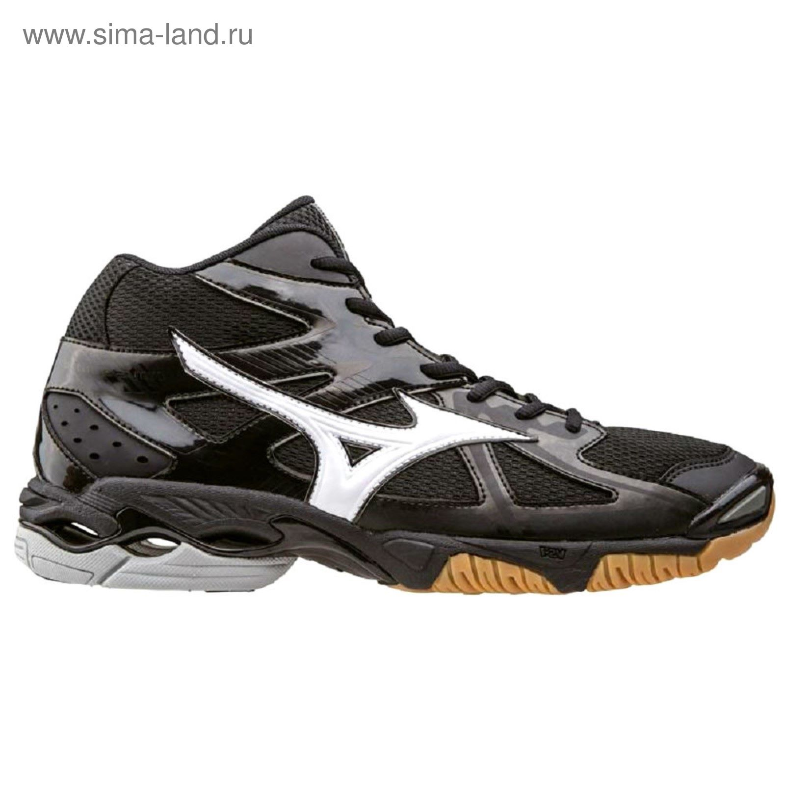 Кроссовки волейбольные мужские Mizuno, V1GA1565 01, Wave, размер 10 ... 7c86d22eba6