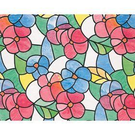 Самоклеящаяся пленка Витраж цветной 0,45x2 м