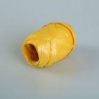 Рафия перламутровая желтая, 3.5 мм х 10 м