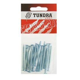 Стяжка мебельная (винт конфирмат) TUNDRA krep, 5х50 мм, в пакете 20 шт.