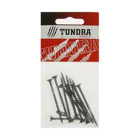 Саморезы по дереву TUNDRA krep, 3.8х55 мм, оксид, крупный шаг, 13 шт.