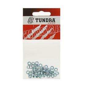 Гайка шестигранная DIN934 TUNDRA krep, оцинкованная, М4, в пакете 50 шт. Ош