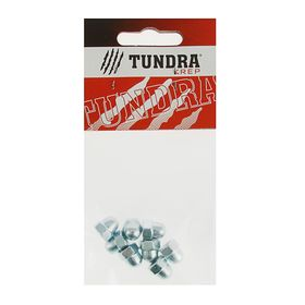 Гайка колпачковая DIN1587 TUNDRA krep, оцинкованная, М6, в пакете 8 шт. Ош