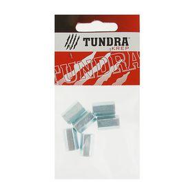 Гайка соединительная DIN6334 TUNDRA krep, оцинкованная, М6, в пакете 6 шт. Ош