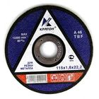 Круг отрезной по металлу Кратон A24TBF Ø115х3,0х22,2 мм