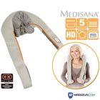 Массажер для шеи Medisana NM 860, 24 Вт, серый