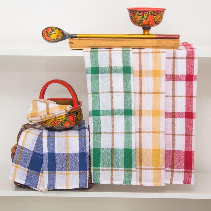 """Полотенце кухонное """"Квадрат"""" 40х60 см, 100% хлопок, микс"""