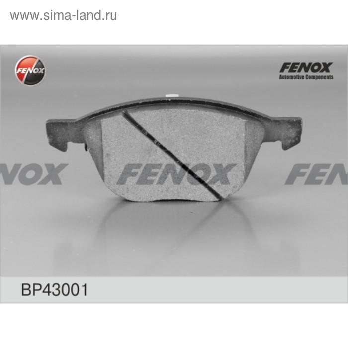 Колодки тормозные Fenox BP43001