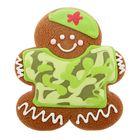 Пряник имбирно-медовый Человечек военный ТМ Пекарня Sofi, 65 г