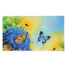 "Доска разделочная 20х35 см ""Бабочки"""