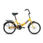 "Велосипед 20"" Altair City 20, 2017, цвет жёлтый, размер 14"""