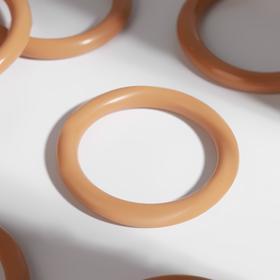 Кольцо для крепления штор, d=28мм, цвет светлый дуб Ош