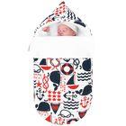 Конверт для новорожденного в автокресло «Капитан», рост 52-68 см, цвет мультиколор