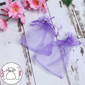 Мешочек подарочный 7x9, цвет фиолетовый Ош