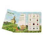 Коллекция натуральных камней на открытке «Нижний Тагил»