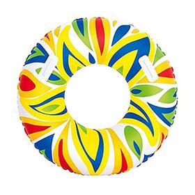Круг для плавания с ручками 107см, от 12+ (36053)