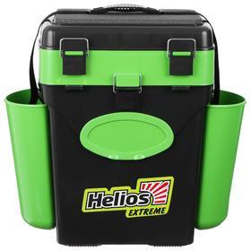 Ящик зимний Helios FishBox 10л, цвет зеленый