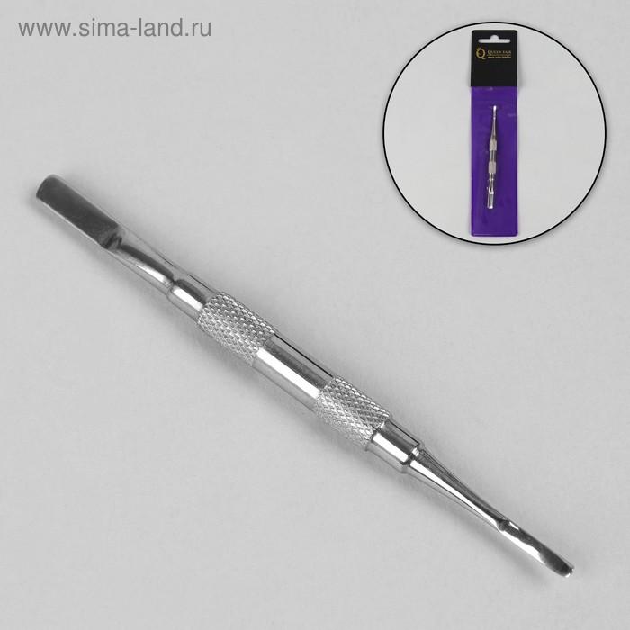 Шабер двухсторонний, лопатка, 9,3(±0,5)см, цвет серебряный