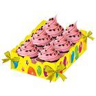 """Подставка для сладостей """"С Днём Рождения"""", шары"""
