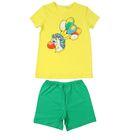 """Комплект для мальчика """"Ёж"""", рост 110-116 см (30), цвет зёленый/жёлтый Р208636"""