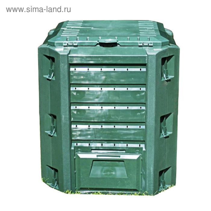Компостер Compogreen, 380 л , пластик, зелёный 2049329