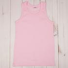 Майка для девочек,  розовый, 104-110 см (30)
