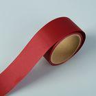 """Лента для декора и подарков """"Аспидистр"""" 5 см х 10 м, тиснение, бордовая"""
