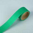 "Лента для декора и подарков ""Аспидистр"" 5 см х 10 м, тиснение, ярко-зелёная"