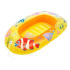 Надувная лодочка Рыбки 112х71 см, от 3-6 лет (34036) МИКС