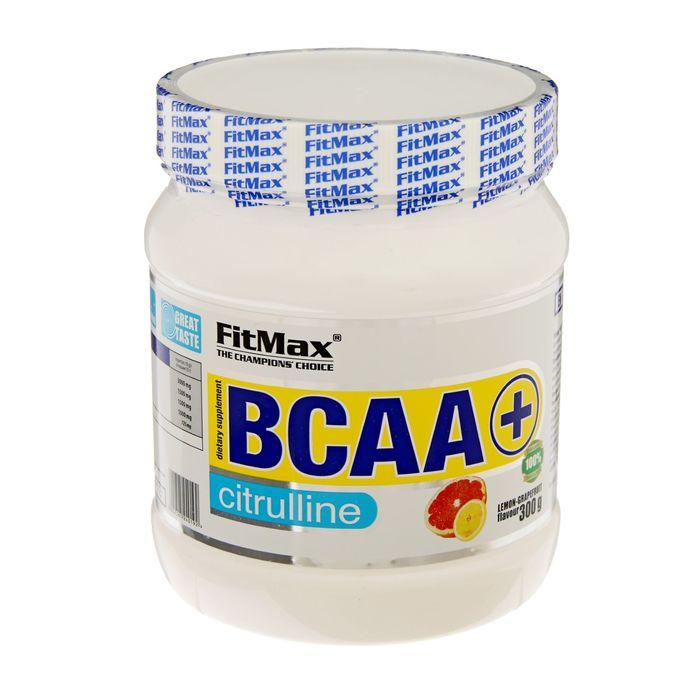 Аминокислоты BCAA+ Citruline FitMax , лимон/грейпфрут, 300 г